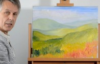 How to create depth in a Landscape Painting: Part 1