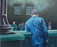 Paul Priestley painting
