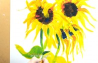 Paint Sunflowers with Passion