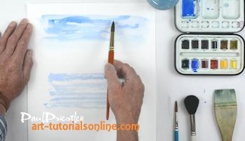 watercolour painting basics: Part 1