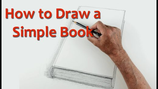 How to Draw a simple book