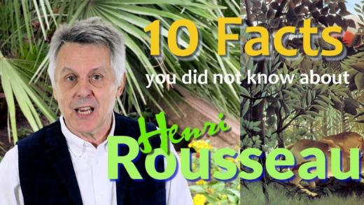 Henri Rousseau is an amazing artist learn about his life in 10 wonderful facts