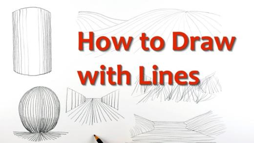 Learn how to draw with lines