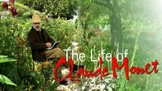The life of Claude Monet told in a 35 minute film