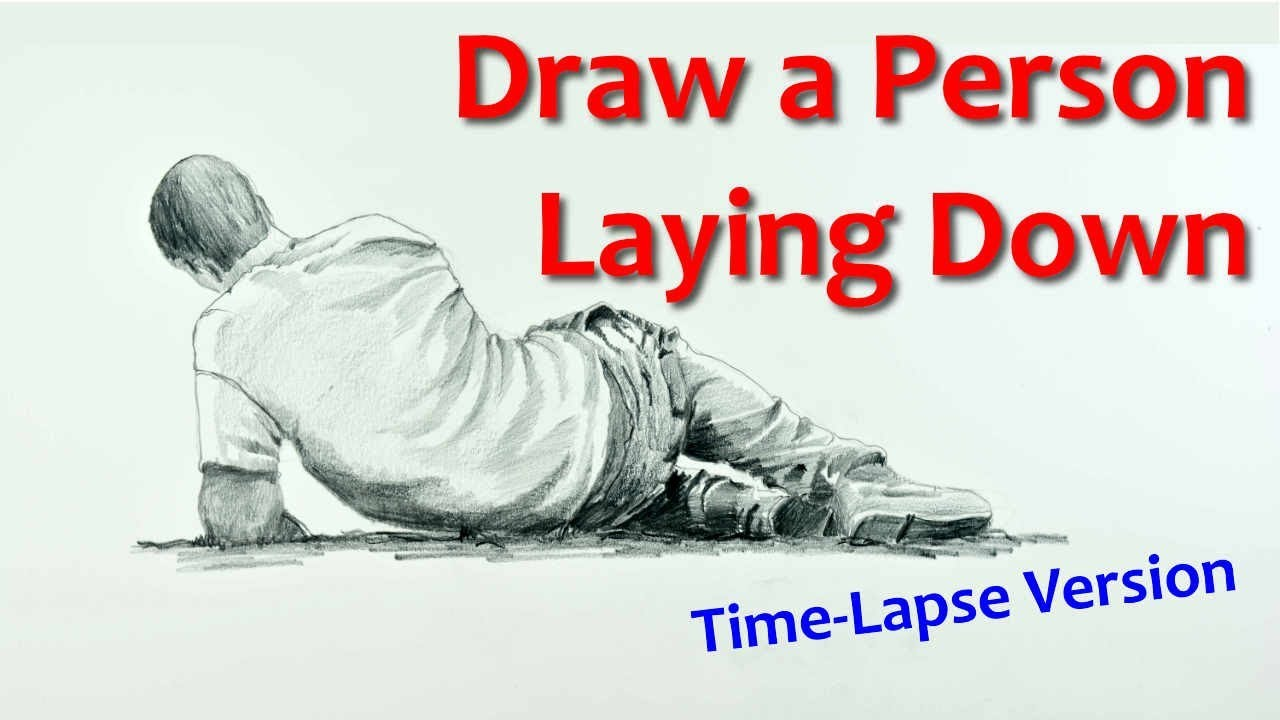 How to Draw a Person Laying Down – Narrated