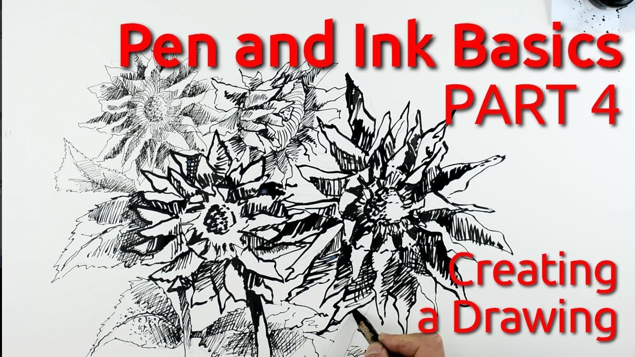 Pen and Ink Basics: Draw a Picture