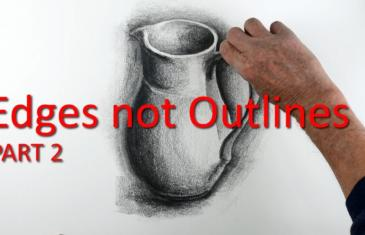 Drawing Basics: Edges not Outlines How to Draw a Jug