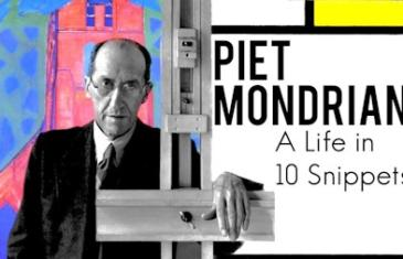 The life of the abstract artist Piet Mondrian