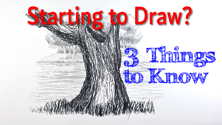 Starting to Draw Part 3 3 things to know