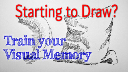 Learn to draw by training your visual memory