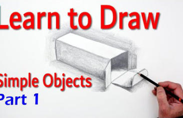 Learn to draw simple objects with Paul Priestley