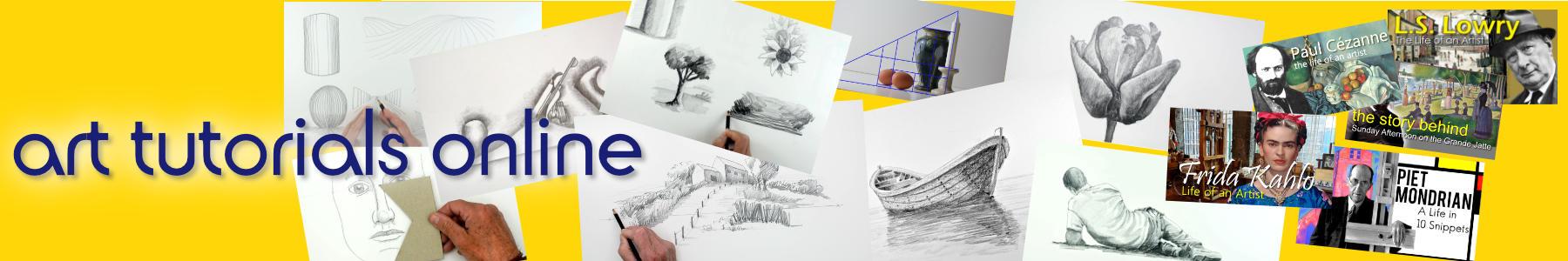 Header for Art Tutorials Online