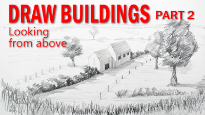 How to draw buildings from above